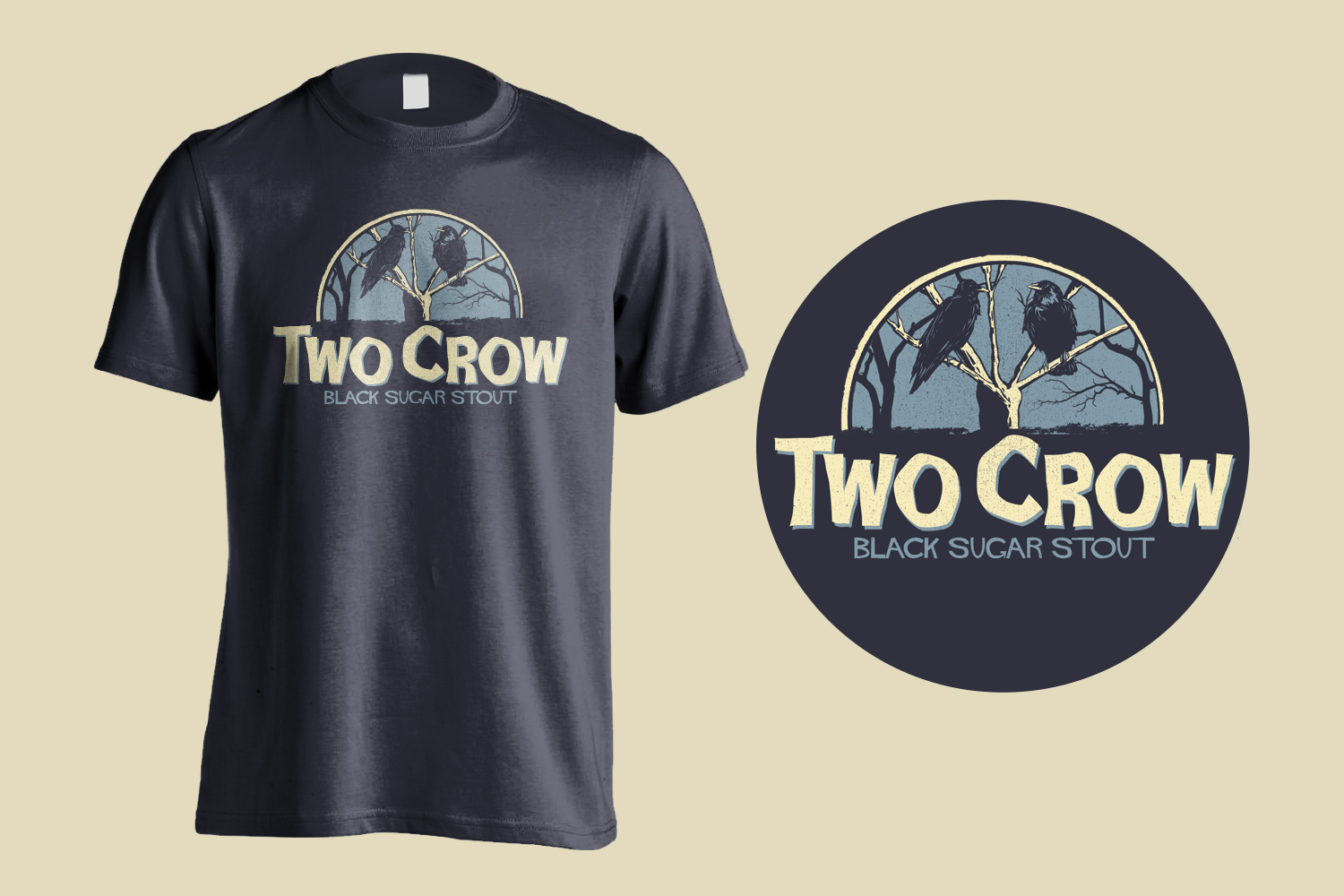 Old Nation Two Crow Tee Shirt