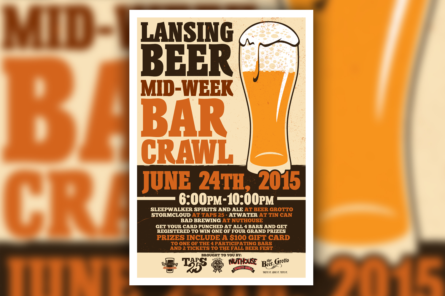 Lansing Mid Week Beer Crawl