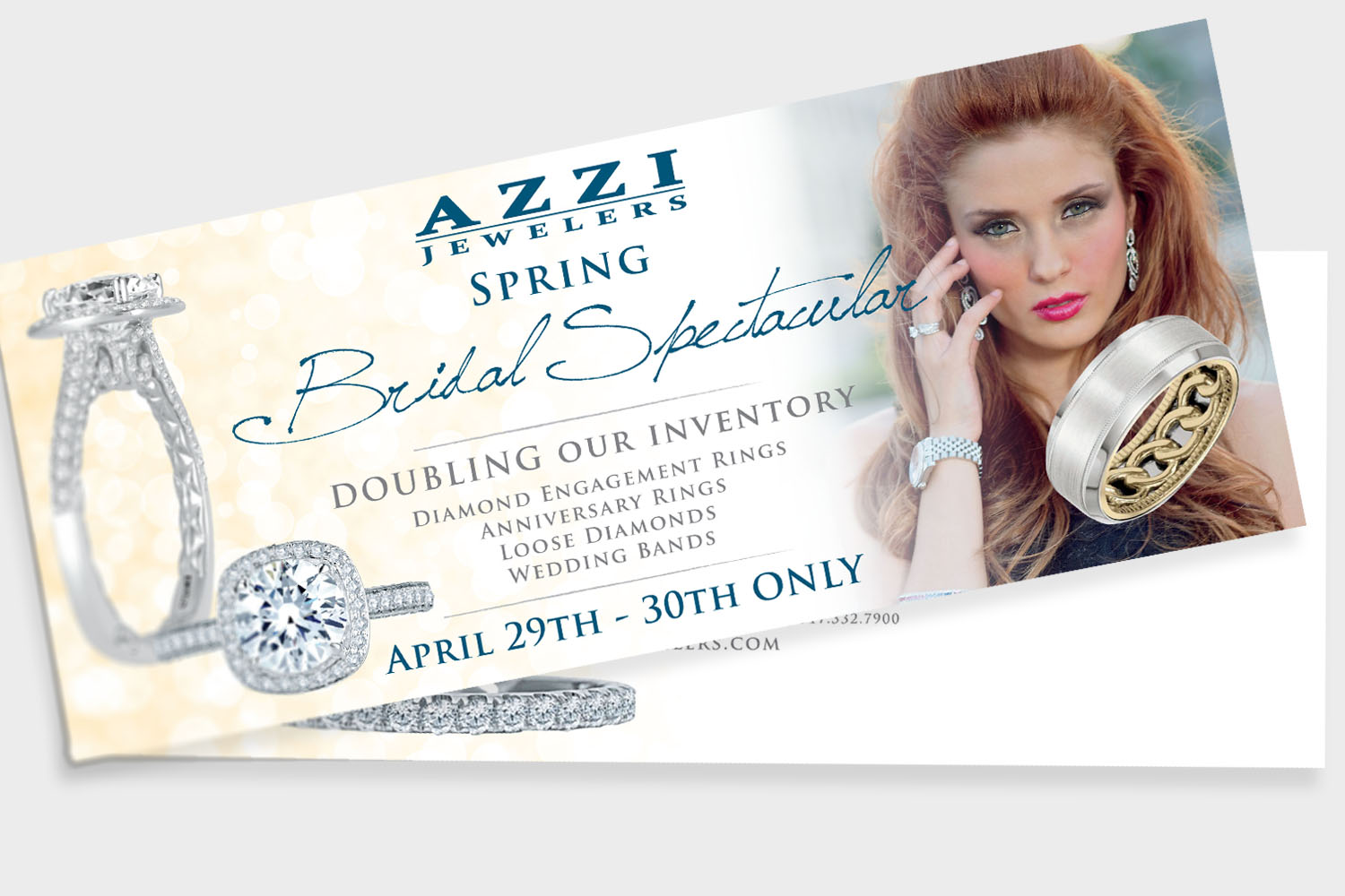 Azzi Jewelers Graphic Design
