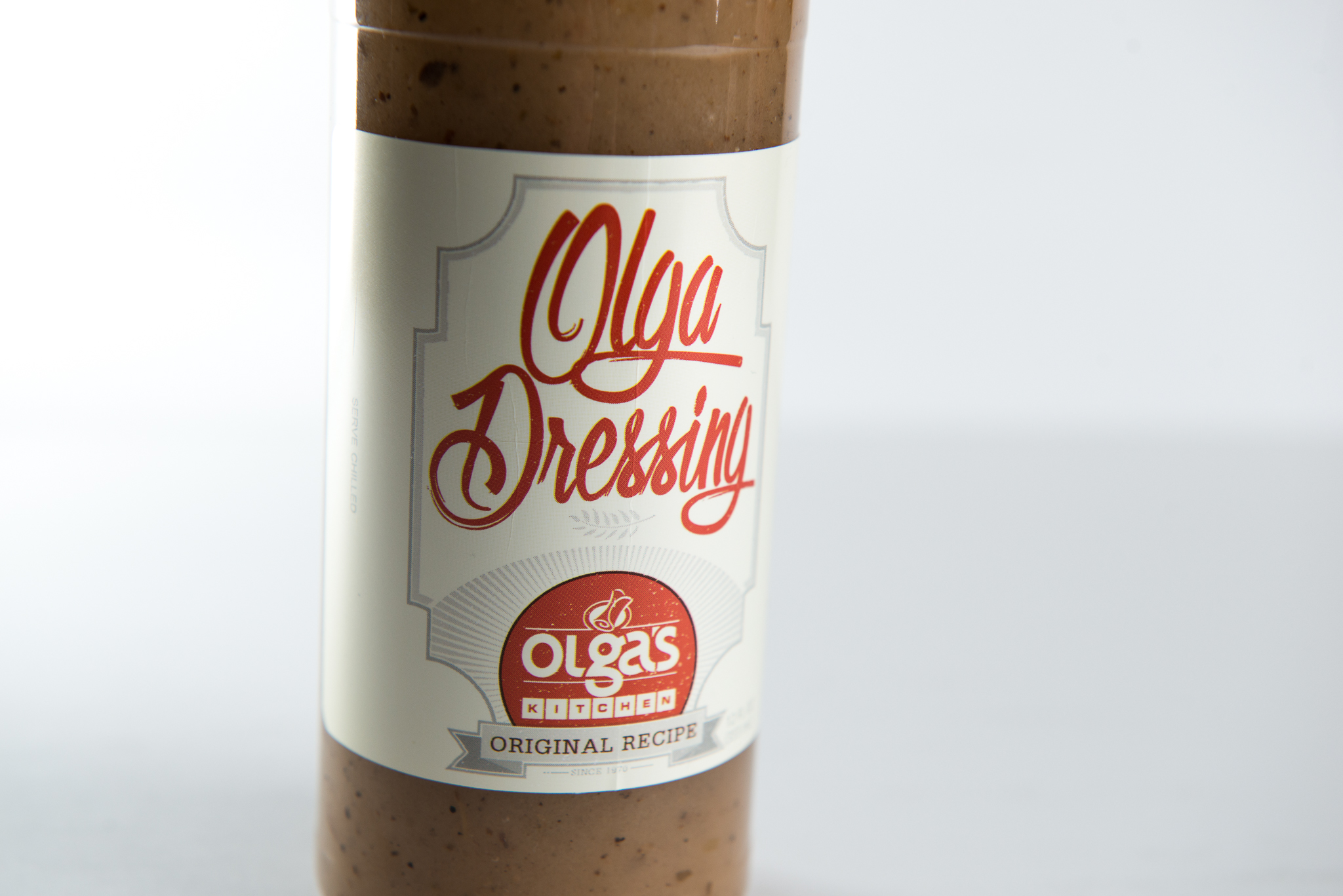 Olga's Kitchen Graphic Design