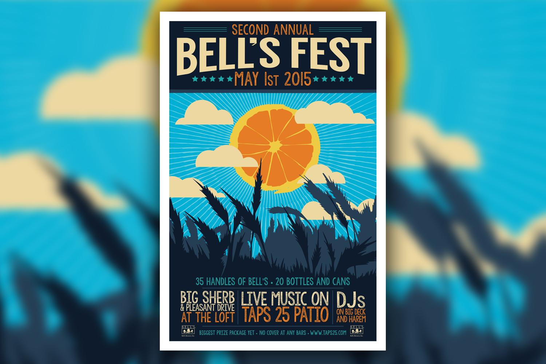 2015 Bell's Fest Poster