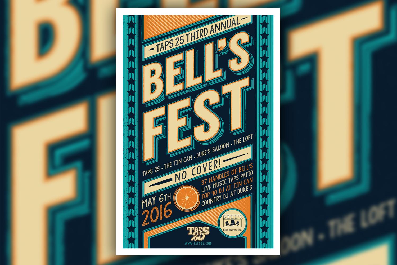 2016 Bell's Fest Poster