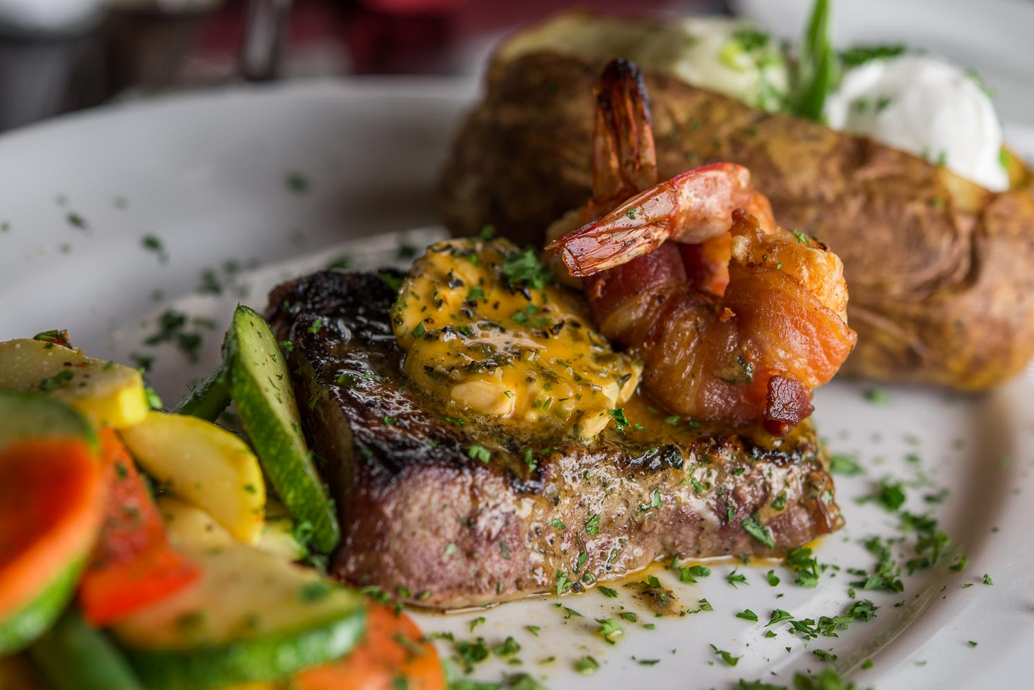 Wrought Iron Grill Food & Beverage Photography