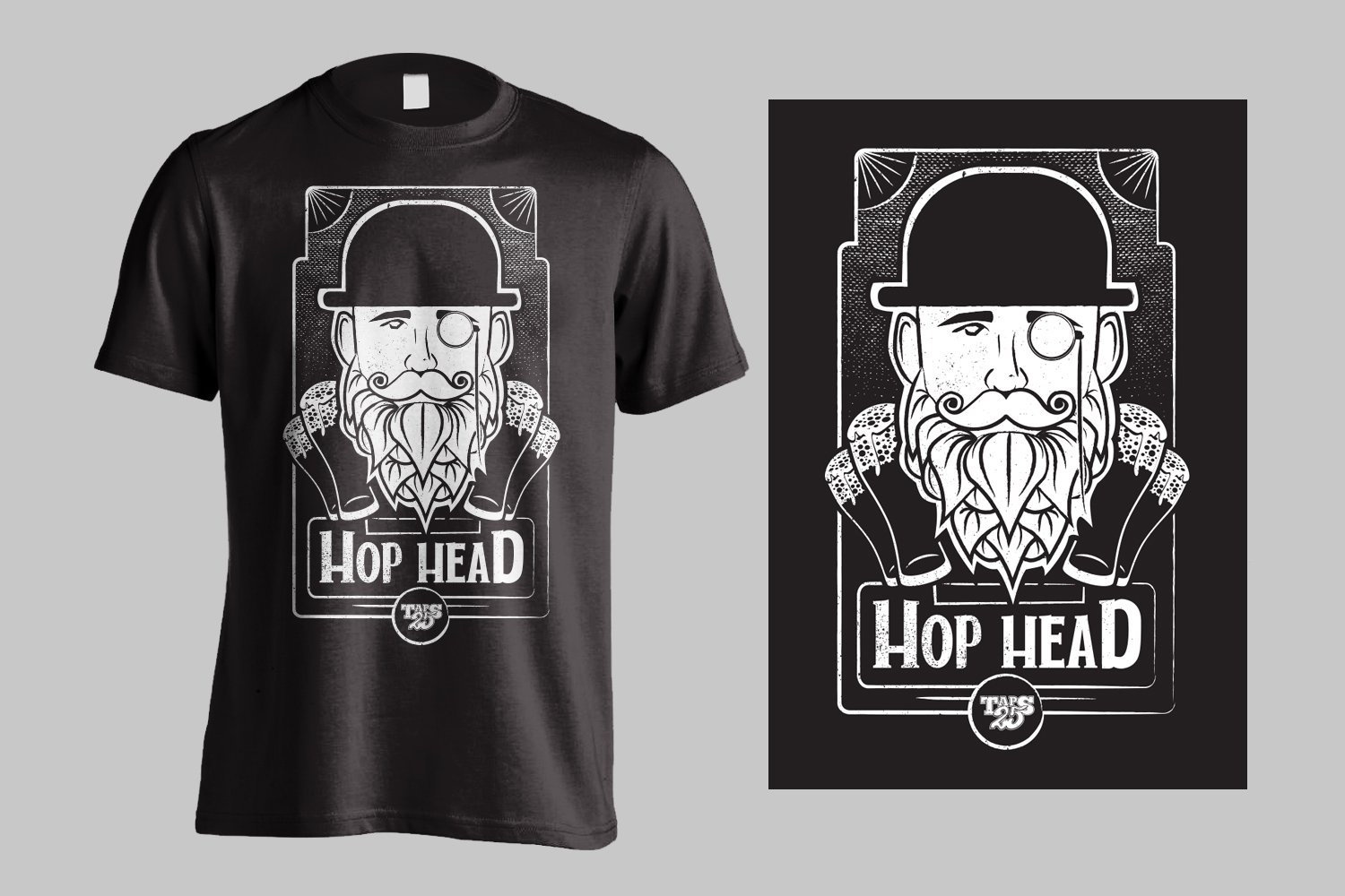Mens Hop Head Shirt Design