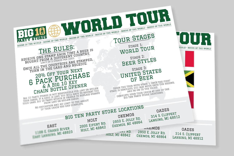Big Ten Tour Cards