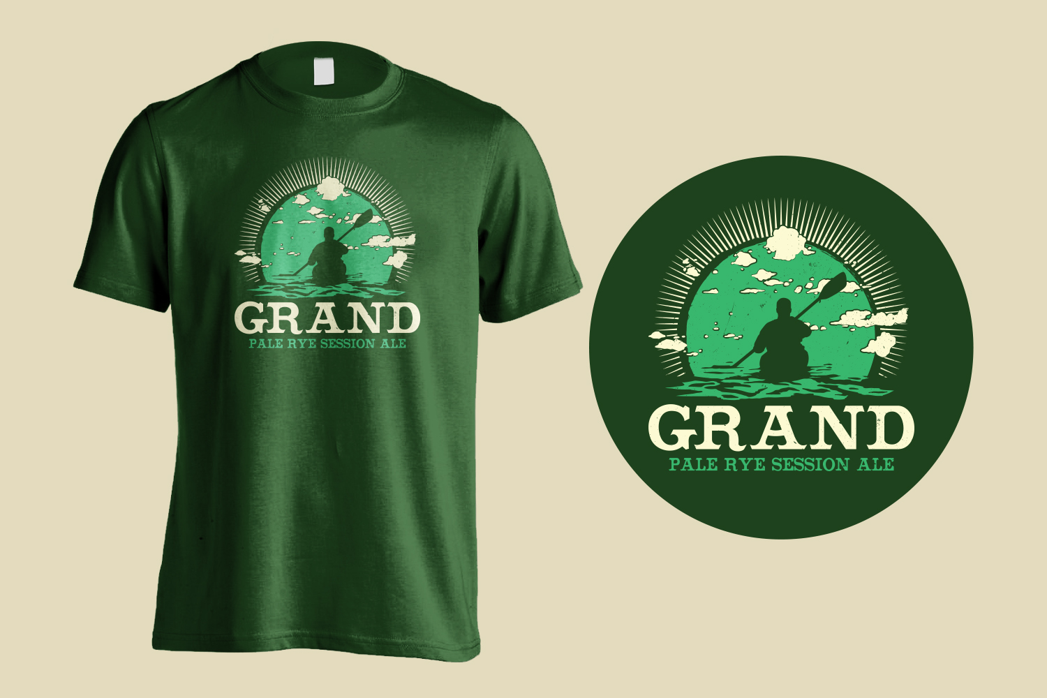 Grand Pale Ale Shirt Design