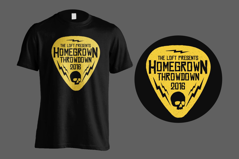 Homegrown Throwdown Tee Shirt