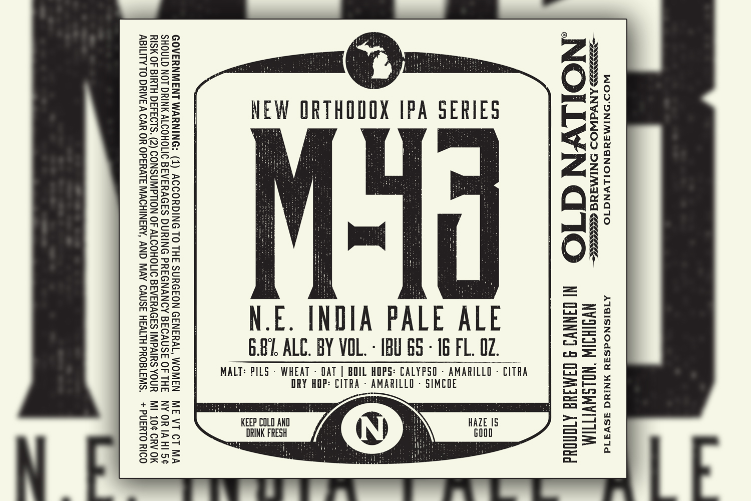 Old Nation New Orthodox IPA Series M-43