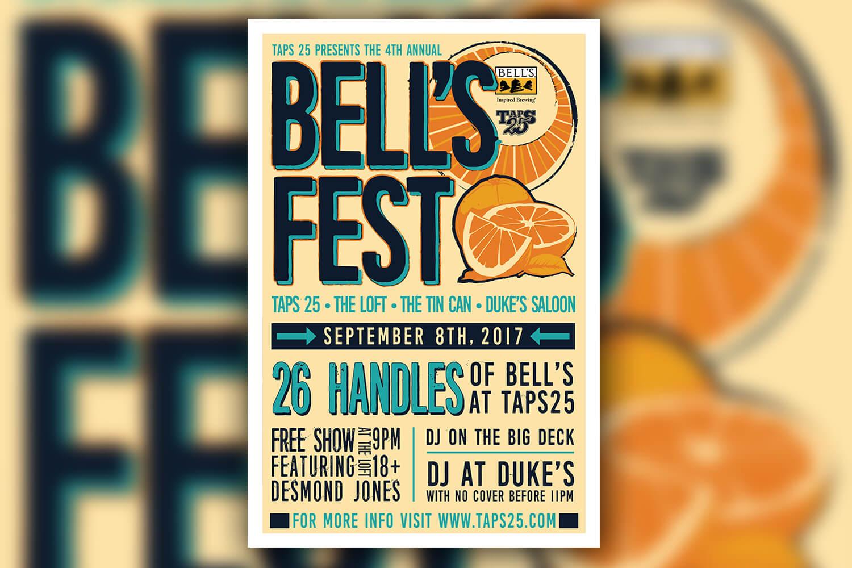 2017 Bell's Fest Poster