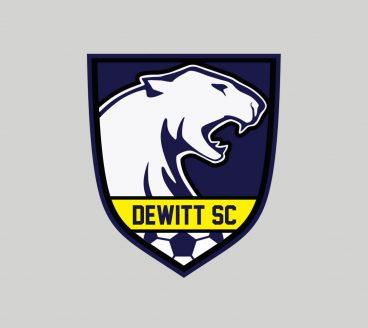 Dewitt Soccer Club logo