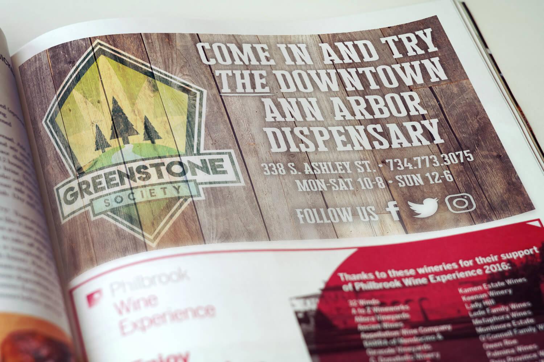 Greenstone Society Magazine Ad