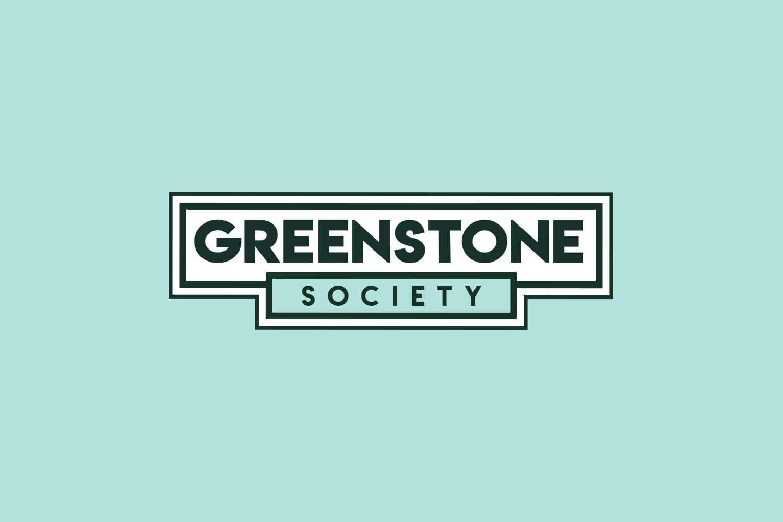 Greenstone Society Horizontal Logo