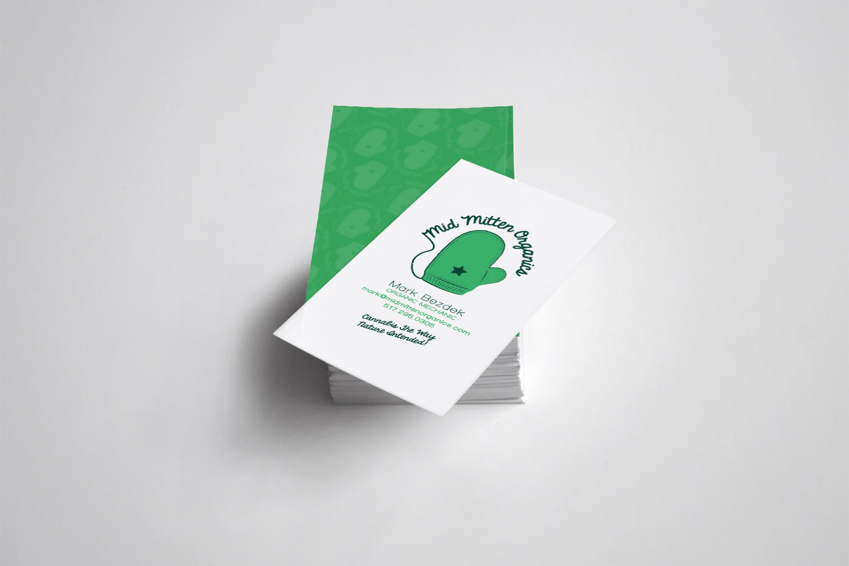 Mid Mitten Organics Business Cards