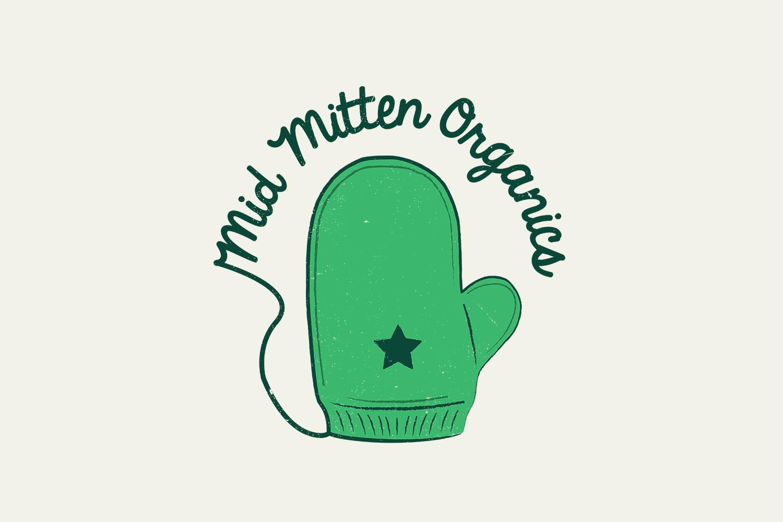 Mid Mitten Organics Logo