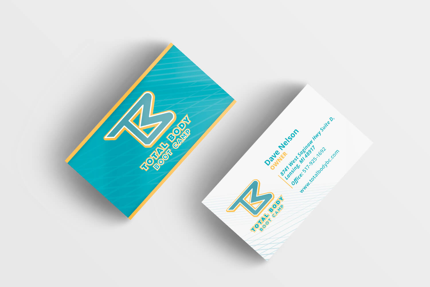 Total Body Bootcamp Business Card